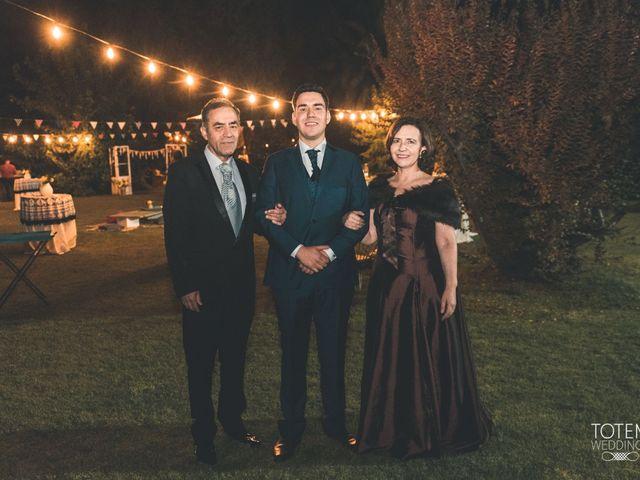 El matrimonio de Francisco  y Karime  en El Monte, Talagante 37