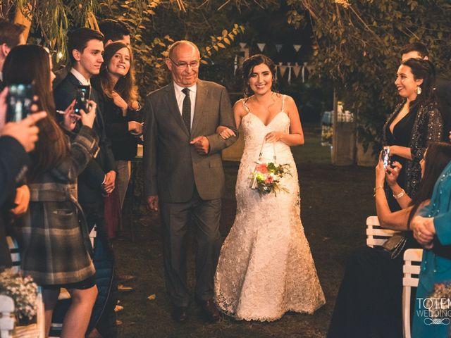 El matrimonio de Francisco  y Karime  en El Monte, Talagante 46