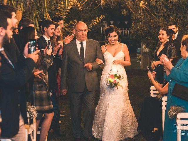 El matrimonio de Francisco  y Karime  en El Monte, Talagante 48