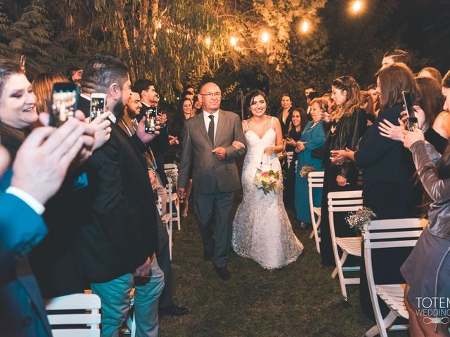 El matrimonio de Francisco  y Karime  en El Monte, Talagante 50
