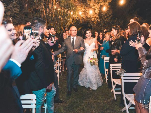 El matrimonio de Francisco  y Karime  en El Monte, Talagante 51