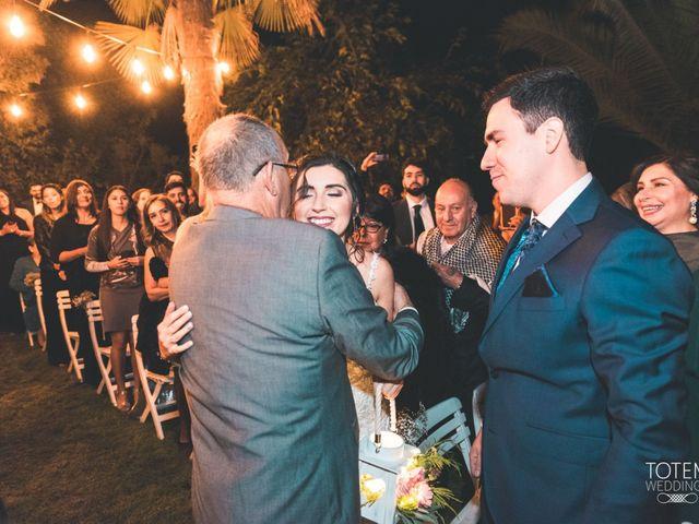 El matrimonio de Francisco  y Karime  en El Monte, Talagante 55