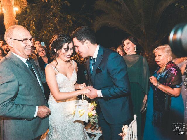 El matrimonio de Francisco  y Karime  en El Monte, Talagante 56