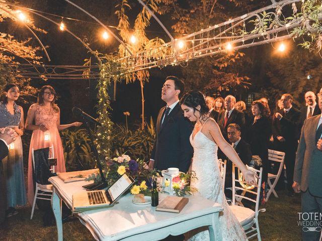 El matrimonio de Francisco  y Karime  en El Monte, Talagante 59