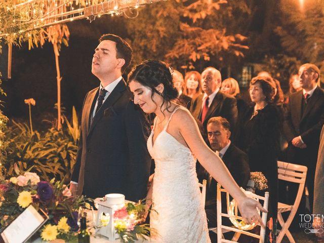 El matrimonio de Francisco  y Karime  en El Monte, Talagante 60