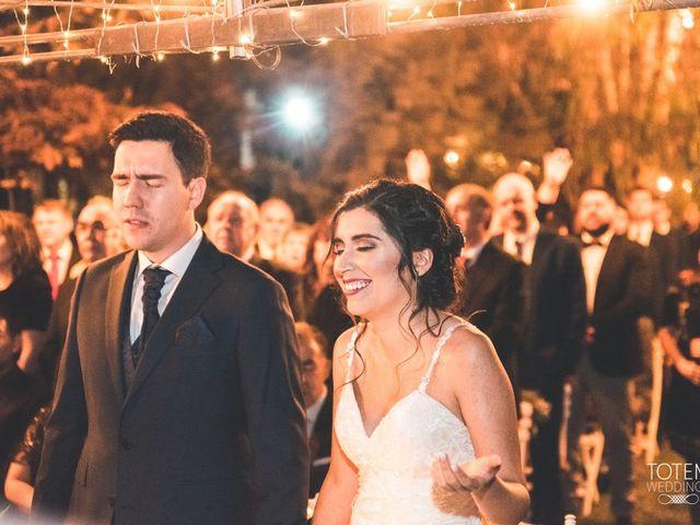 El matrimonio de Francisco  y Karime  en El Monte, Talagante 61