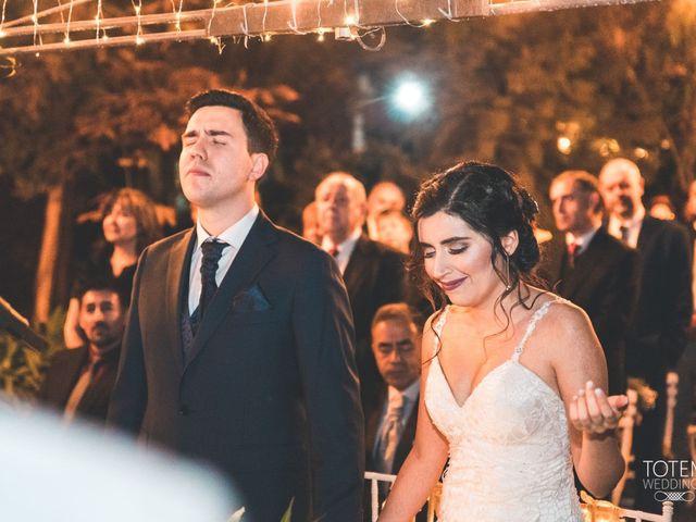 El matrimonio de Francisco  y Karime  en El Monte, Talagante 62