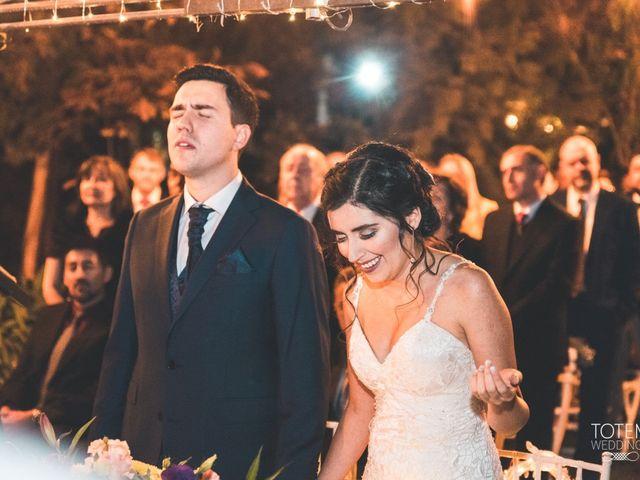 El matrimonio de Francisco  y Karime  en El Monte, Talagante 63