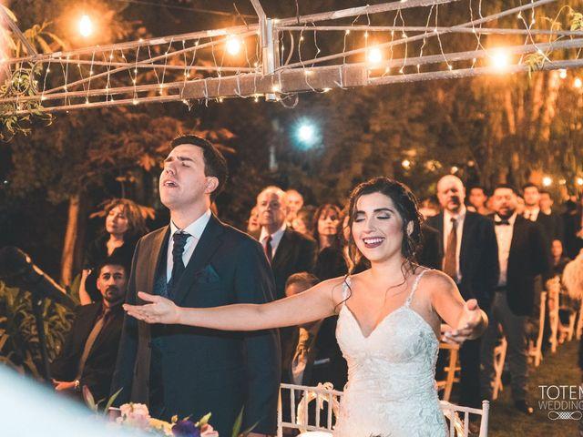 El matrimonio de Francisco  y Karime  en El Monte, Talagante 66