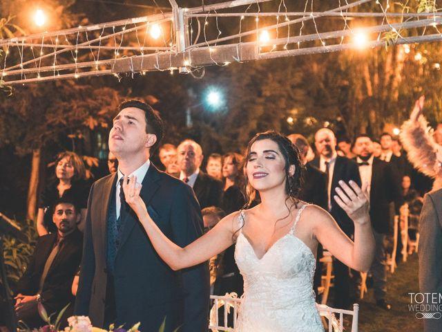 El matrimonio de Francisco  y Karime  en El Monte, Talagante 67