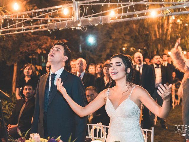 El matrimonio de Francisco  y Karime  en El Monte, Talagante 68