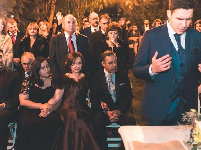 El matrimonio de Francisco  y Karime  en El Monte, Talagante 69