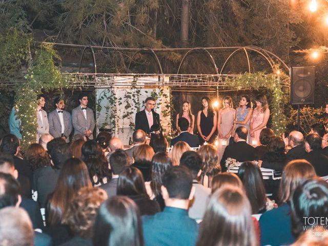 El matrimonio de Francisco  y Karime  en El Monte, Talagante 73