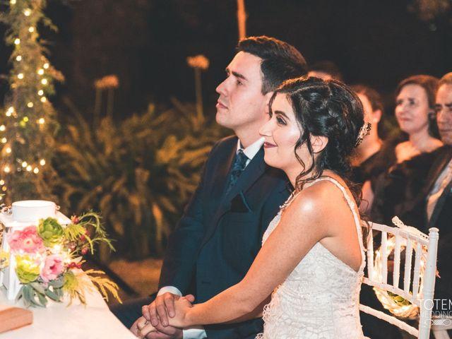 El matrimonio de Francisco  y Karime  en El Monte, Talagante 74