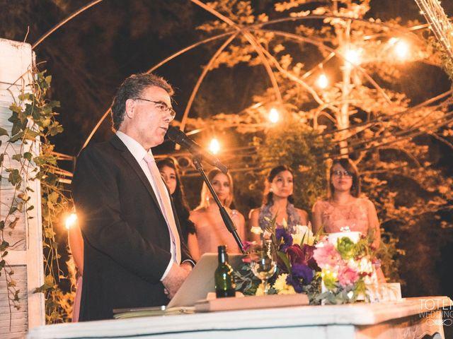 El matrimonio de Francisco  y Karime  en El Monte, Talagante 78