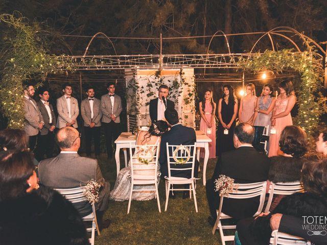 El matrimonio de Francisco  y Karime  en El Monte, Talagante 81