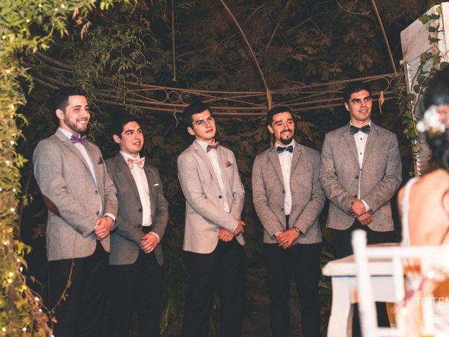 El matrimonio de Francisco  y Karime  en El Monte, Talagante 83
