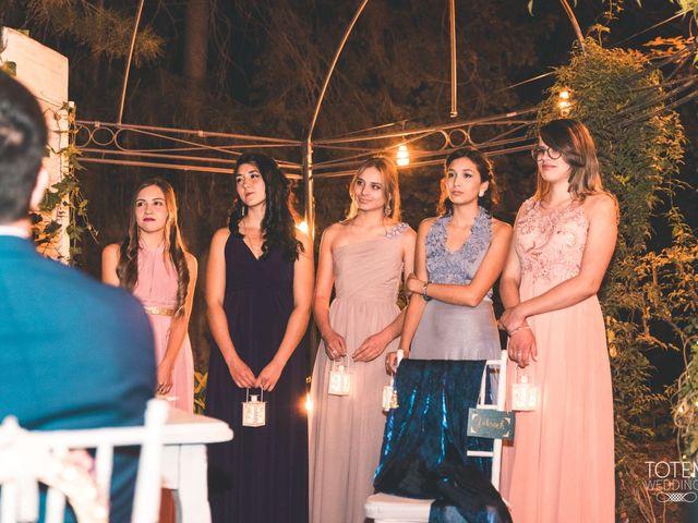 El matrimonio de Francisco  y Karime  en El Monte, Talagante 84