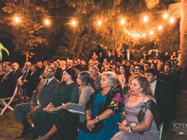 El matrimonio de Francisco  y Karime  en El Monte, Talagante 86