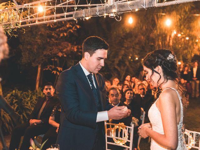 El matrimonio de Francisco  y Karime  en El Monte, Talagante 87