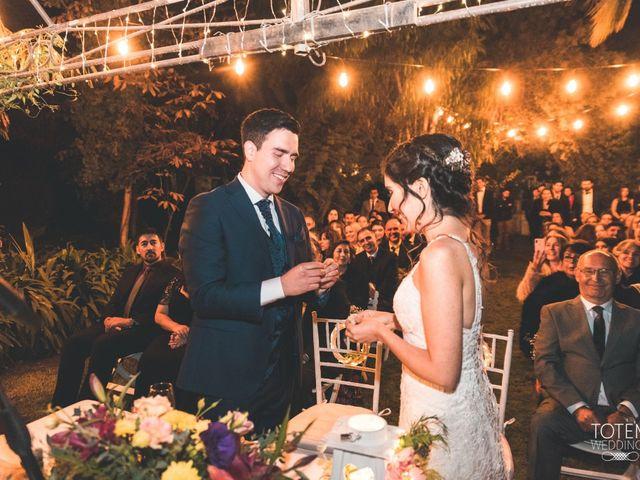 El matrimonio de Francisco  y Karime  en El Monte, Talagante 88