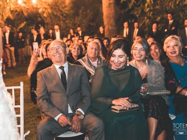 El matrimonio de Francisco  y Karime  en El Monte, Talagante 89