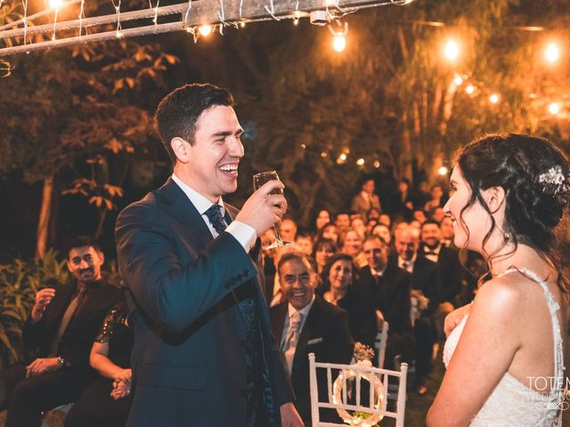 El matrimonio de Francisco  y Karime  en El Monte, Talagante 90