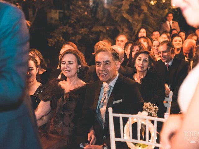 El matrimonio de Francisco  y Karime  en El Monte, Talagante 92