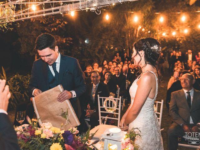 El matrimonio de Francisco  y Karime  en El Monte, Talagante 93
