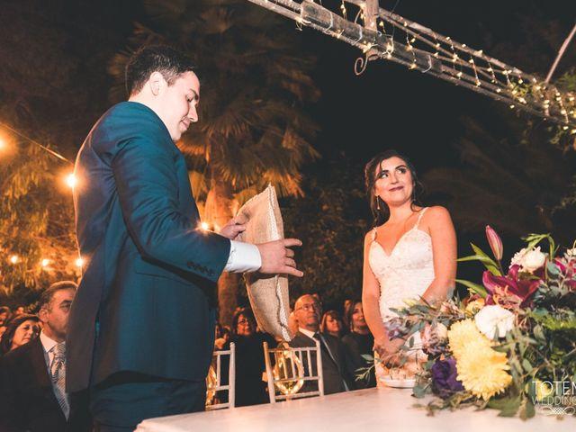 El matrimonio de Francisco  y Karime  en El Monte, Talagante 95