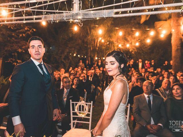 El matrimonio de Francisco  y Karime  en El Monte, Talagante 98