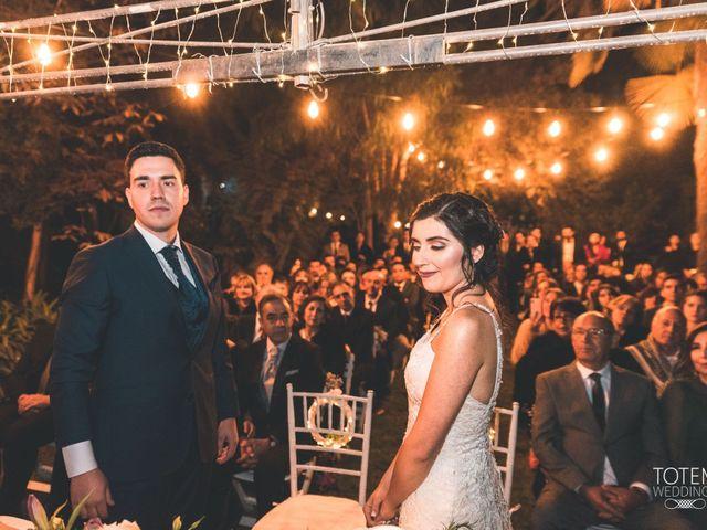 El matrimonio de Francisco  y Karime  en El Monte, Talagante 99