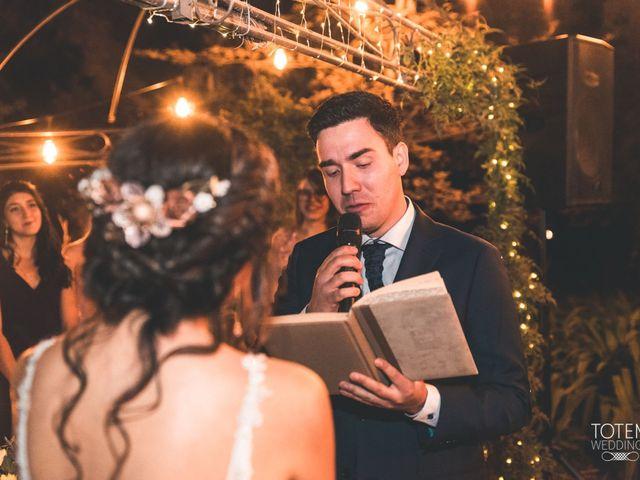 El matrimonio de Francisco  y Karime  en El Monte, Talagante 100