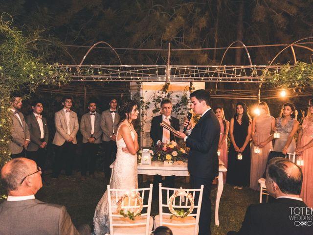 El matrimonio de Francisco  y Karime  en El Monte, Talagante 101