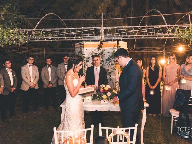 El matrimonio de Francisco  y Karime  en El Monte, Talagante 102