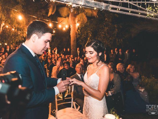 El matrimonio de Francisco  y Karime  en El Monte, Talagante 104