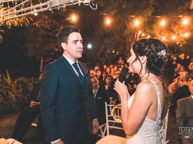 El matrimonio de Francisco  y Karime  en El Monte, Talagante 105