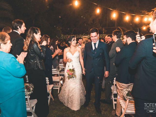 El matrimonio de Francisco  y Karime  en El Monte, Talagante 116