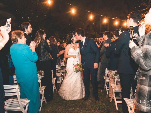 El matrimonio de Francisco  y Karime  en El Monte, Talagante 117