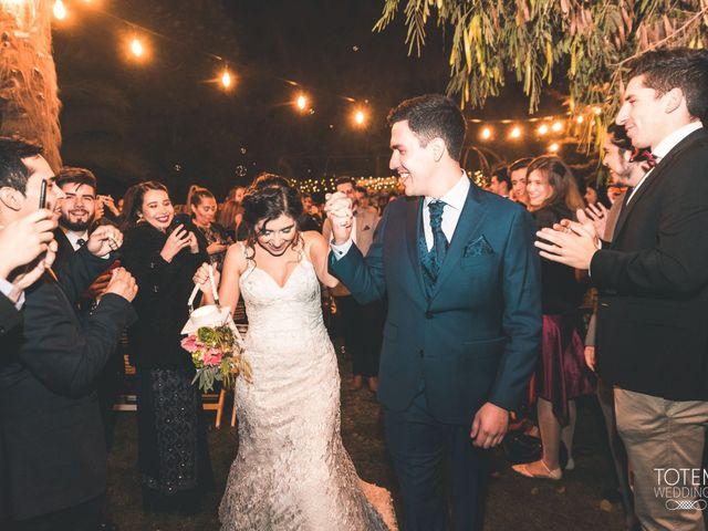 El matrimonio de Francisco  y Karime  en El Monte, Talagante 118