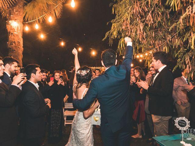 El matrimonio de Francisco  y Karime  en El Monte, Talagante 119