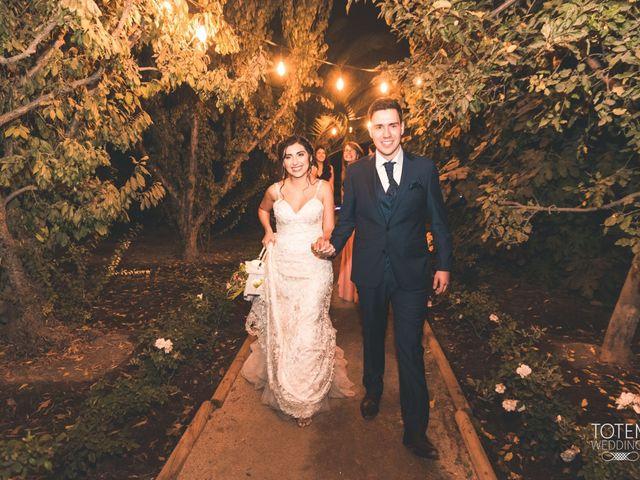 El matrimonio de Francisco  y Karime  en El Monte, Talagante 120
