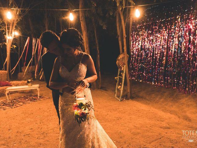 El matrimonio de Francisco  y Karime  en El Monte, Talagante 123