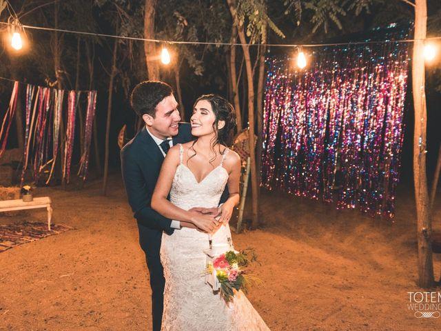 El matrimonio de Francisco  y Karime  en El Monte, Talagante 124