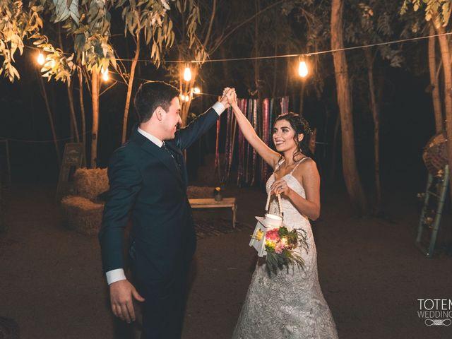 El matrimonio de Francisco  y Karime  en El Monte, Talagante 125