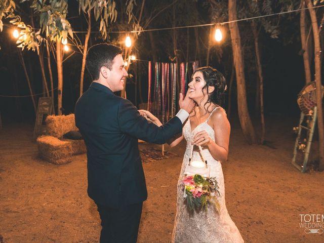 El matrimonio de Francisco  y Karime  en El Monte, Talagante 127