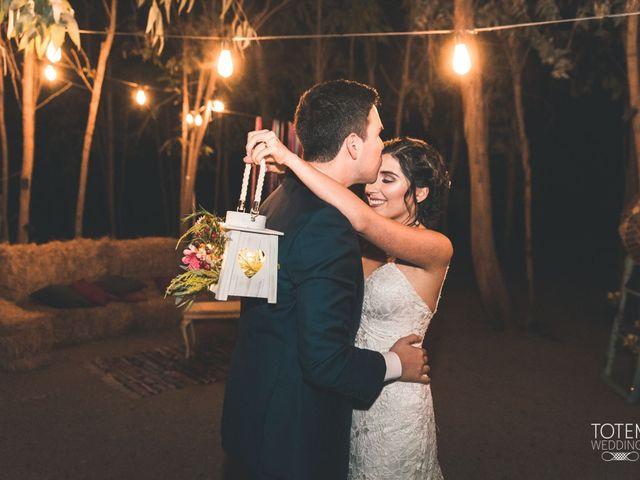 El matrimonio de Francisco  y Karime  en El Monte, Talagante 130