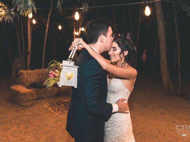 El matrimonio de Francisco  y Karime  en El Monte, Talagante 131