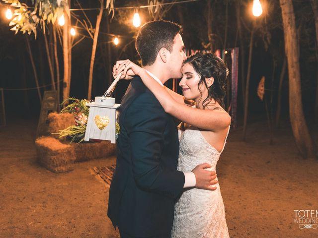 El matrimonio de Francisco  y Karime  en El Monte, Talagante 132