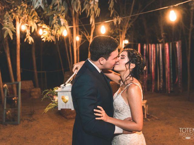 El matrimonio de Francisco  y Karime  en El Monte, Talagante 133